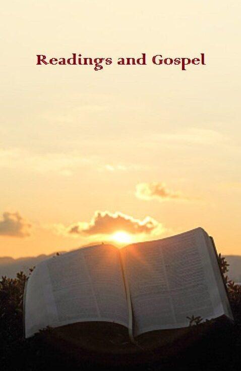 Sunday Readings and Gospel